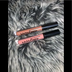 NYX Lingerie lippies 🌹